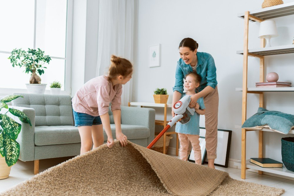 Carpet cleaning can help prevent mold growth